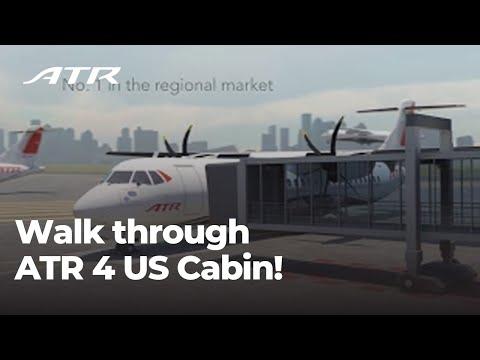 Walk through ATR 4 US Cabin!