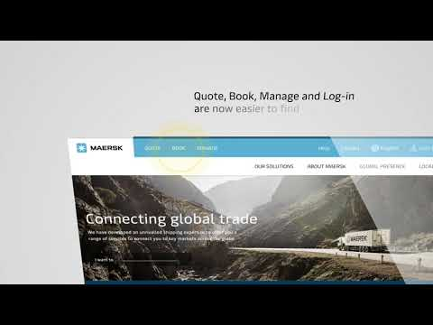 Introducing The New Maersk Website | www.maersk.com