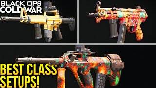 Black Ops Cold War: The BEST CLASS SETUPS To Use! (BEST WEAPONS)