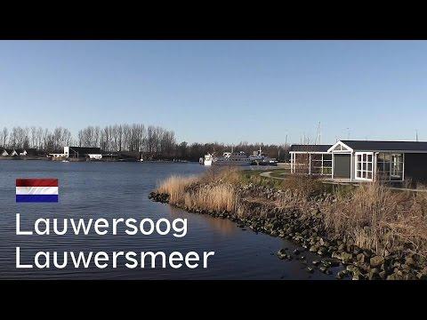 HOLLAND: Lauwersoog / Lauwersmeer (port & lake), Groningen [HD]