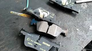 BMW 320D Rear Brake Pad & Pad Sensor Replacing.