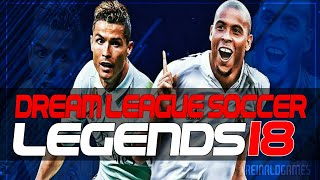 INCREIBLE DREAM LEAGUE SOCCER LEGENDS 18 | DESCARGA AQUÍ POR MEGA Y MEDIAFIRE | SUPERMOD DLS CLASSIC