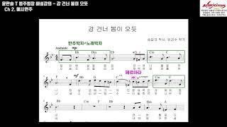 [음악임용] 강건너봄이오듯 범주범창 모의고사 해설강의  - 뮤직서커스 윤한솔