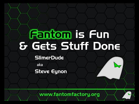Fantom is Fun! - A 5 minute lightning talk