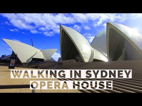 Sydney/Australia Walking To Opera House  - Free Walkthrough Tour
