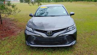 Jerry Bass at Massey Toyota on the 2020 Camry LE for Clay
