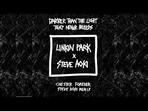 Linkin Park x Steve Aoki - Darker Than The Light That Never Bleeds (Steve Aoki Remix)