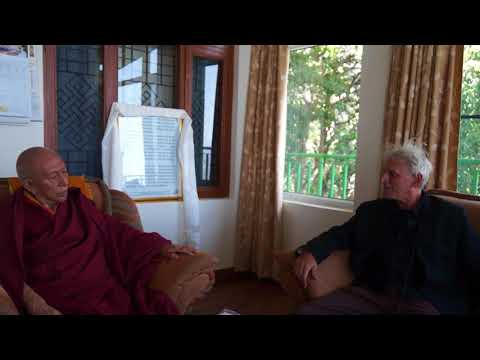 "His Eminence Prof. Samdhong Rinpoche's interview and talk about ""consciousness and activism"""