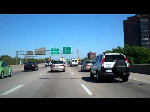 Driving South on I-65 through Indianapolis