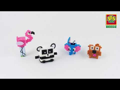 06267 SES Beedz - 3D animal boxes