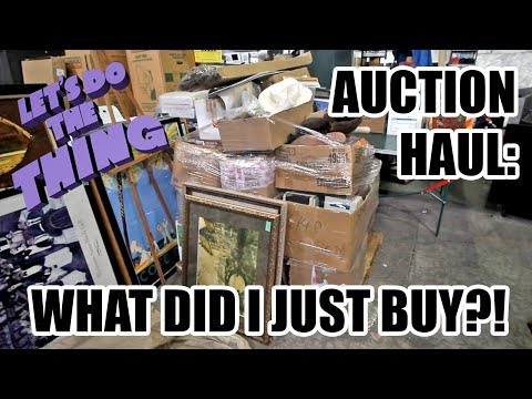 Biggest Auction Haul Yet - Totally Worth It!