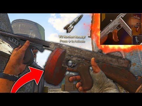 "The New GOD GUN in COD WW2! Best ""M1928"" Class Setup Drops A V2 ROCKET! (COD WW2 BEST CLASS SETUPS)"
