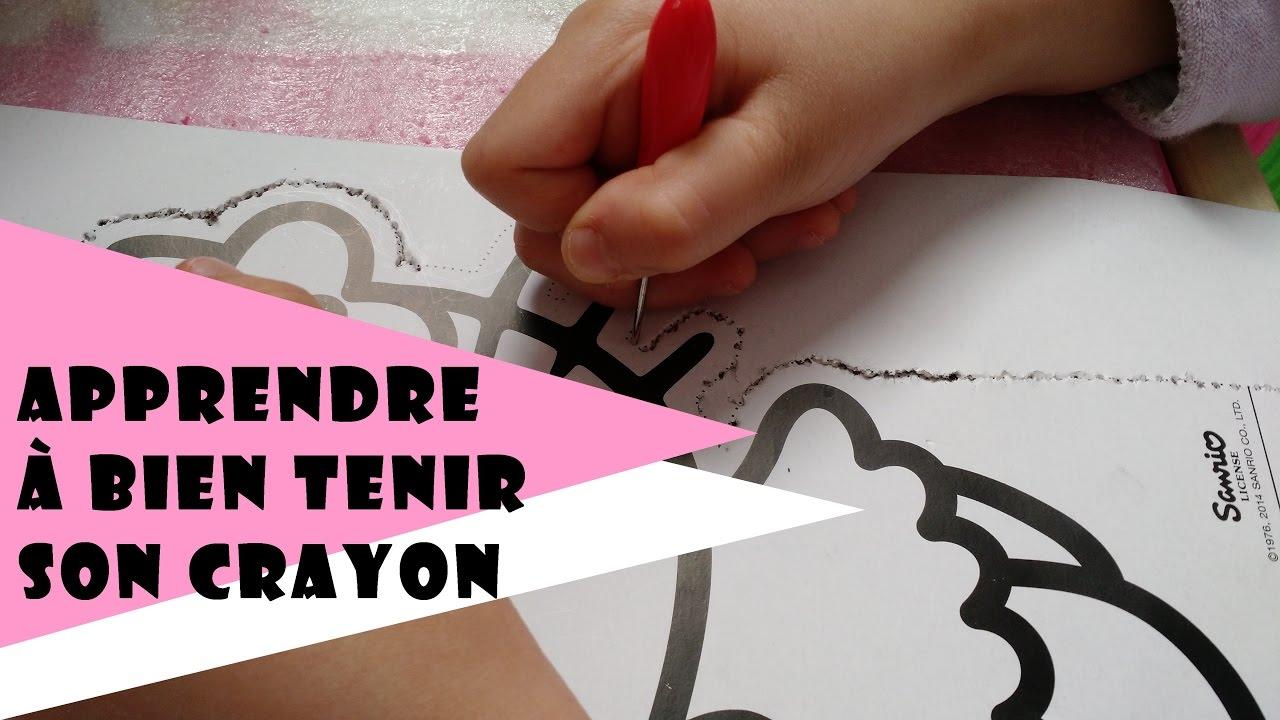apprendre bien tenir son crayon le poin onnage ou bloc perforer s 39 exercer l 39 criture. Black Bedroom Furniture Sets. Home Design Ideas
