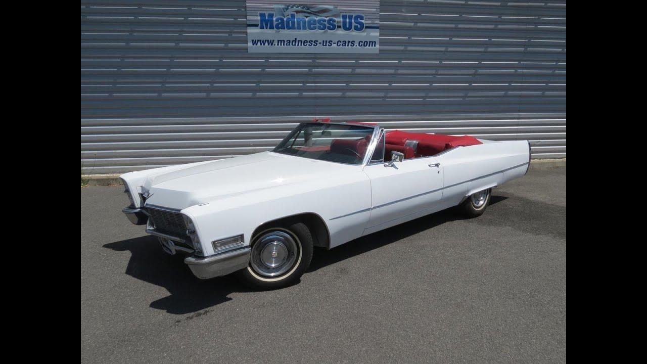 Cadillac De Ville Cabriolet 1968 Youtube
