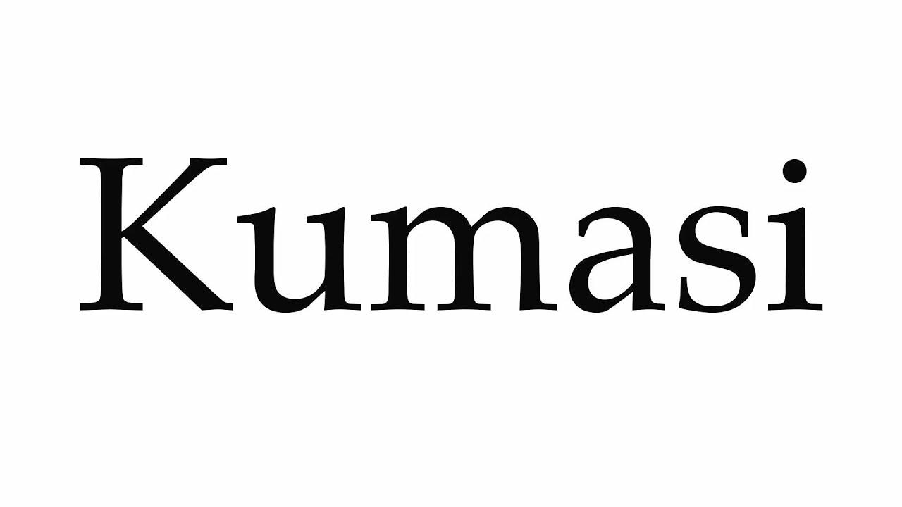 How to Pronounce Kumasi