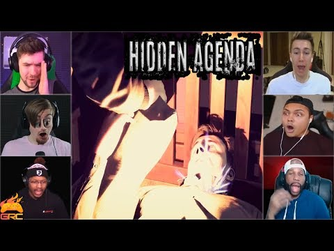 Gamers Reactions to the Trap Bomb | Hidden Agenda