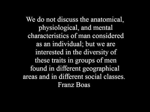 Biography of Franz Boas