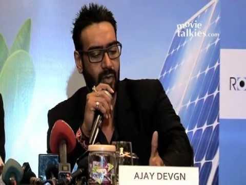 Ajay Devgn Announces Solar Power Project
