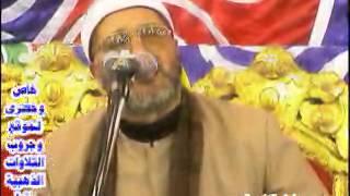 الشيخ منصور جمعة الانبياء بنى عامر 10  5 - 2013 خاص موقع التلاوات الذهبية