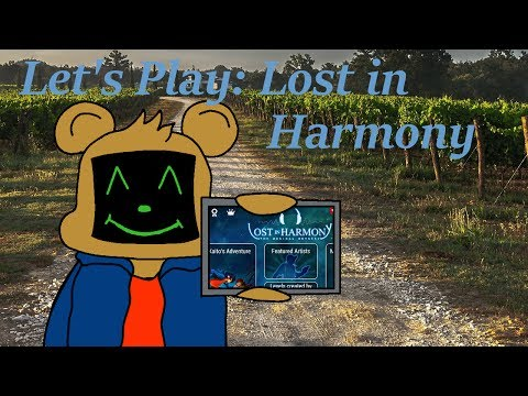 With Dreams of Danger and Music: Let's Play Lost in Harmony |
