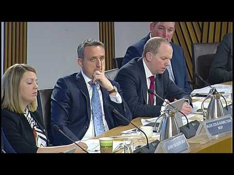 Health and Sport Committee - Scottish Parliament: 25th April 2017