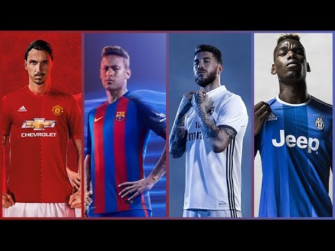Thumbnail: New Kits Of The Most Popular European Clubs II 2016 - 2017 II Wich Is The Best II