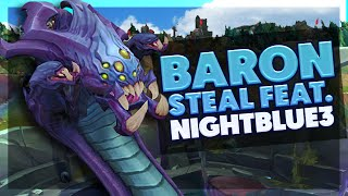 BunnyFuFuu | KENCH BARON STEAL Ft. Nightblue3