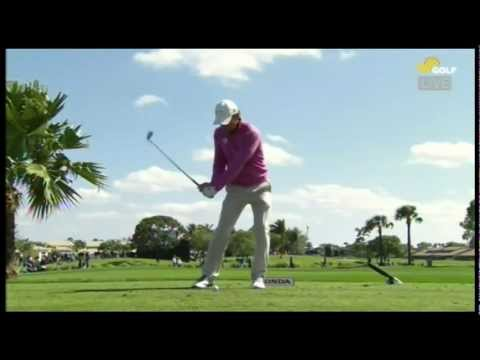 Charles Howell III Swing 4 Iron Face On Honda Classic 2013