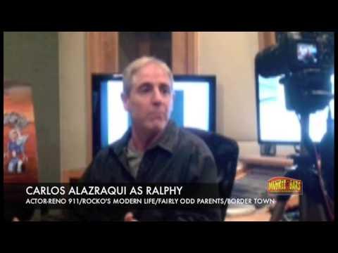 "Space Gangsters ""Carlos Alazraqui Interview"" -""Reno 911"", ""Rockos Modern Life"""
