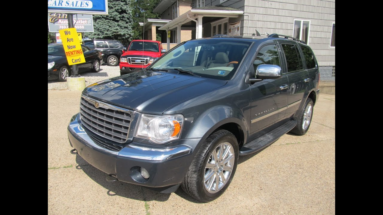 2009 Chrysler Aspen Limited 4x4 Elite Auto Outlet Bridgeport Ohio