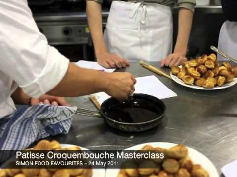 Patisse Croquembouche Masterclass - 24 May 2011