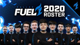 Introducing your 2020 Dallas Fuel Roster!