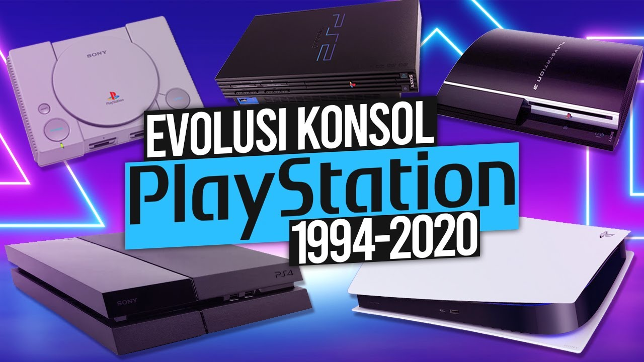 Evolusi & Perkembangan Konsol Playstation (1994-2020) | PS1-PS5