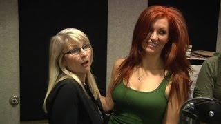 She showed tits