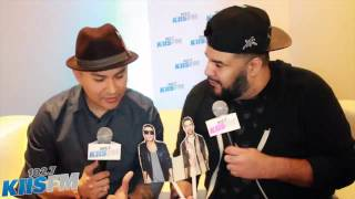 Frankie J talks about Grammy Nomination