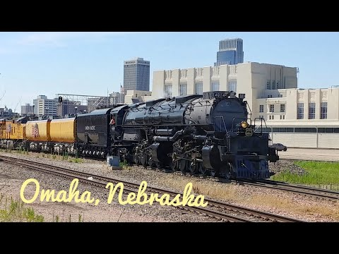 Union Pacific 4014 - Omaha, NE Area Arrival/Chase 7/12/2019