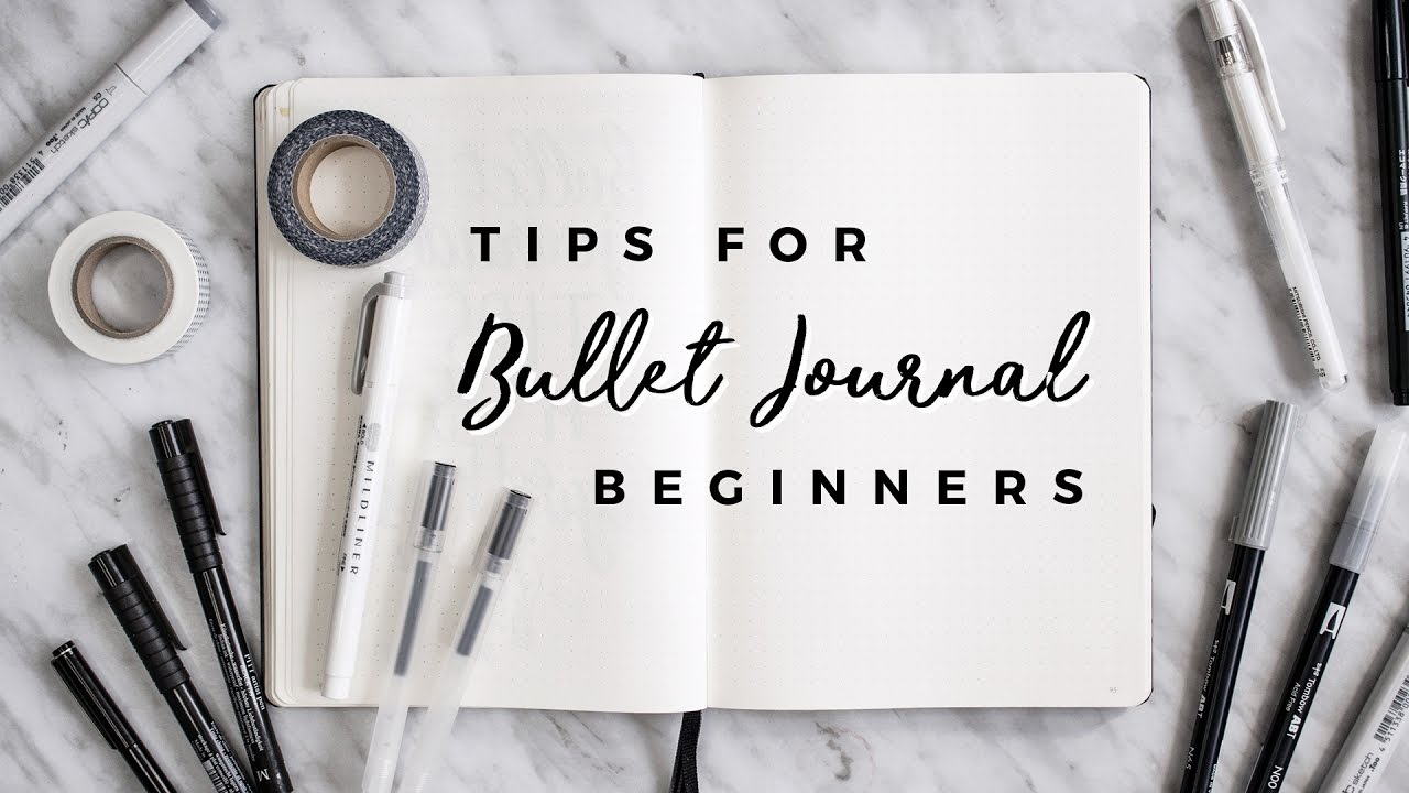 Bullet Journal Tips For Beginners GIVEAWAY With Miss Louie