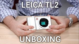 Leica TL2 Unboxing
