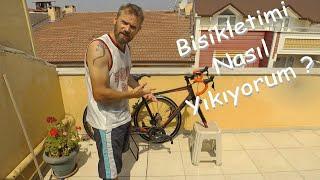 Bisikletimi Nasıl Yıkıyorum ?