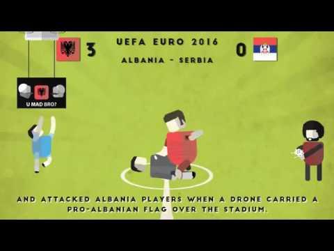 Albania FSHF   Football History On Cartoons   From creation to EURO 2016
