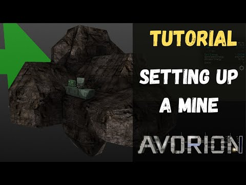 Avorion - Tutorial - Setting Up Your Own Mine - Generating Passive Income