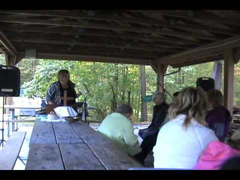 Yeager Church's Annual Shawnee State Park Service in Bedford, PA Sept 23, 2012