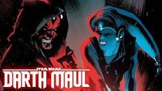 Darth Maul's First Duel with a Jedi