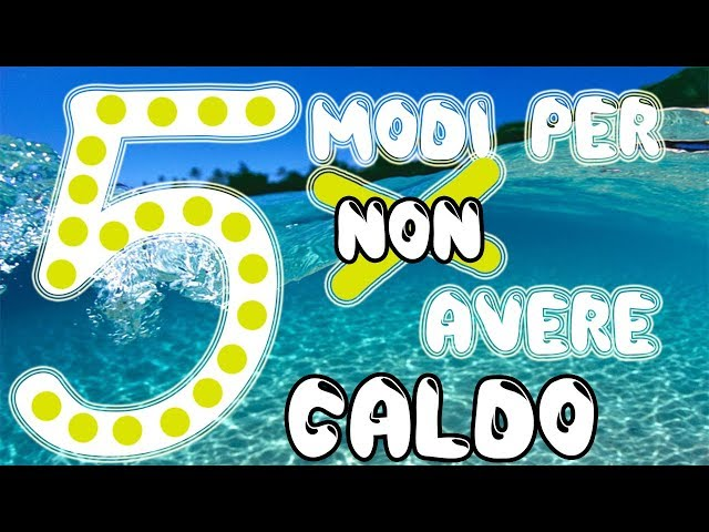 COME NON AVERE CALDO D'ESTATE! |ABstract