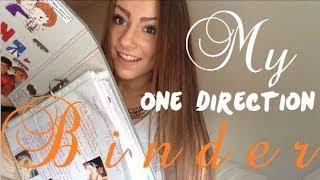 My One Direction Binder *updated*