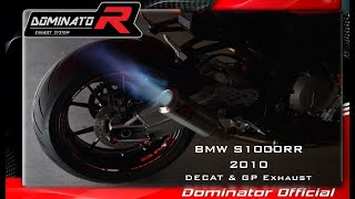 BMW S1000RR 2010 💥 Pure Sound 🔥 🔊 Dominator Decat vs. Catalyst 🎧HQ Sound 🇵🇱 ⚡Exhaust Compilations