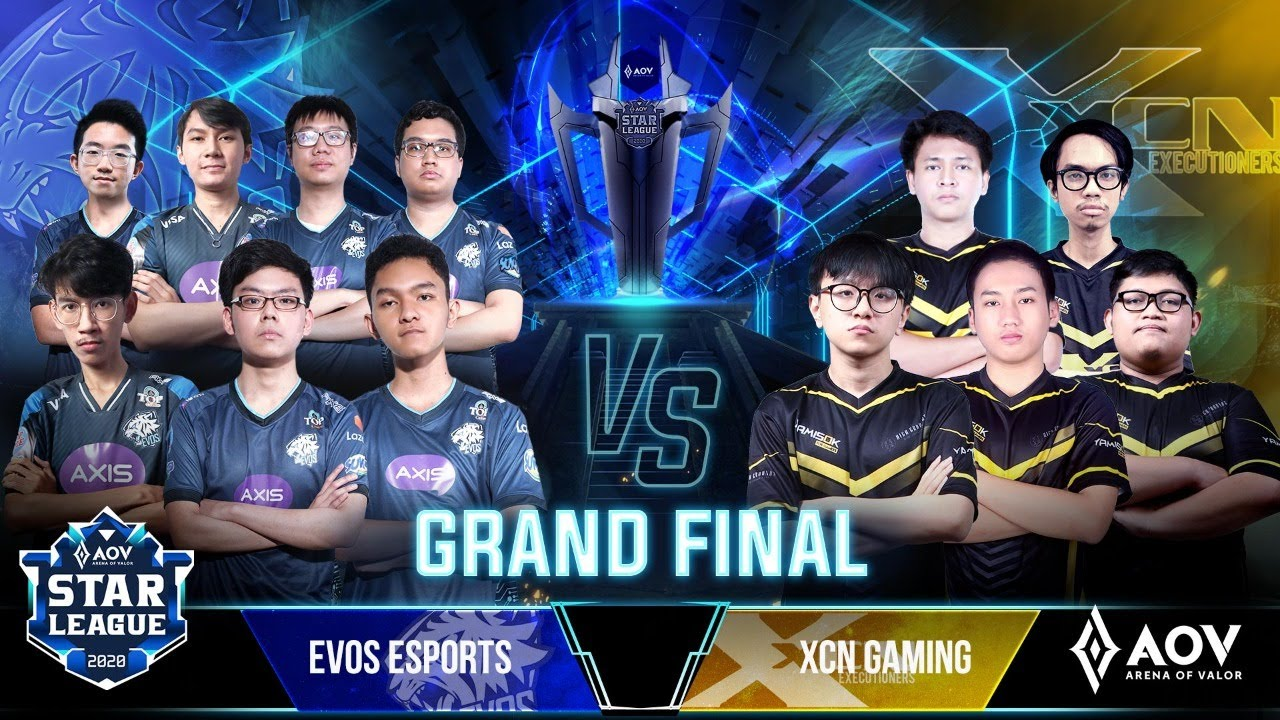 Match 2 Final ASL 2020 Season 4 - EVOS Esports vs XCN Gaming