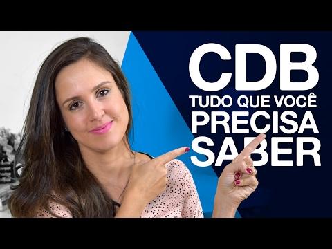 CDB, tudo o que você precisa saber!!!