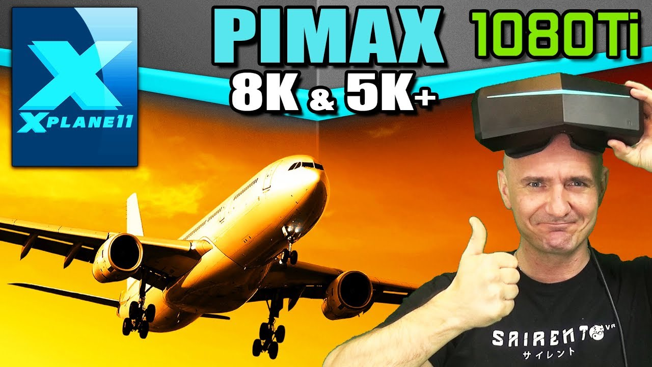 Steam Community :: Video :: X-Plane 11 VR on Pimax 8K & 5K Plus - VR