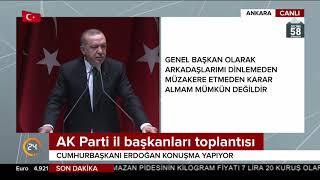 Erdoğan: Diktatör görmek isteyen bir gecede 15 vekile zorla parti değiştirenlere baksın